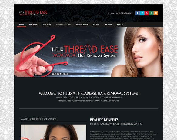 Helix Hair Threading